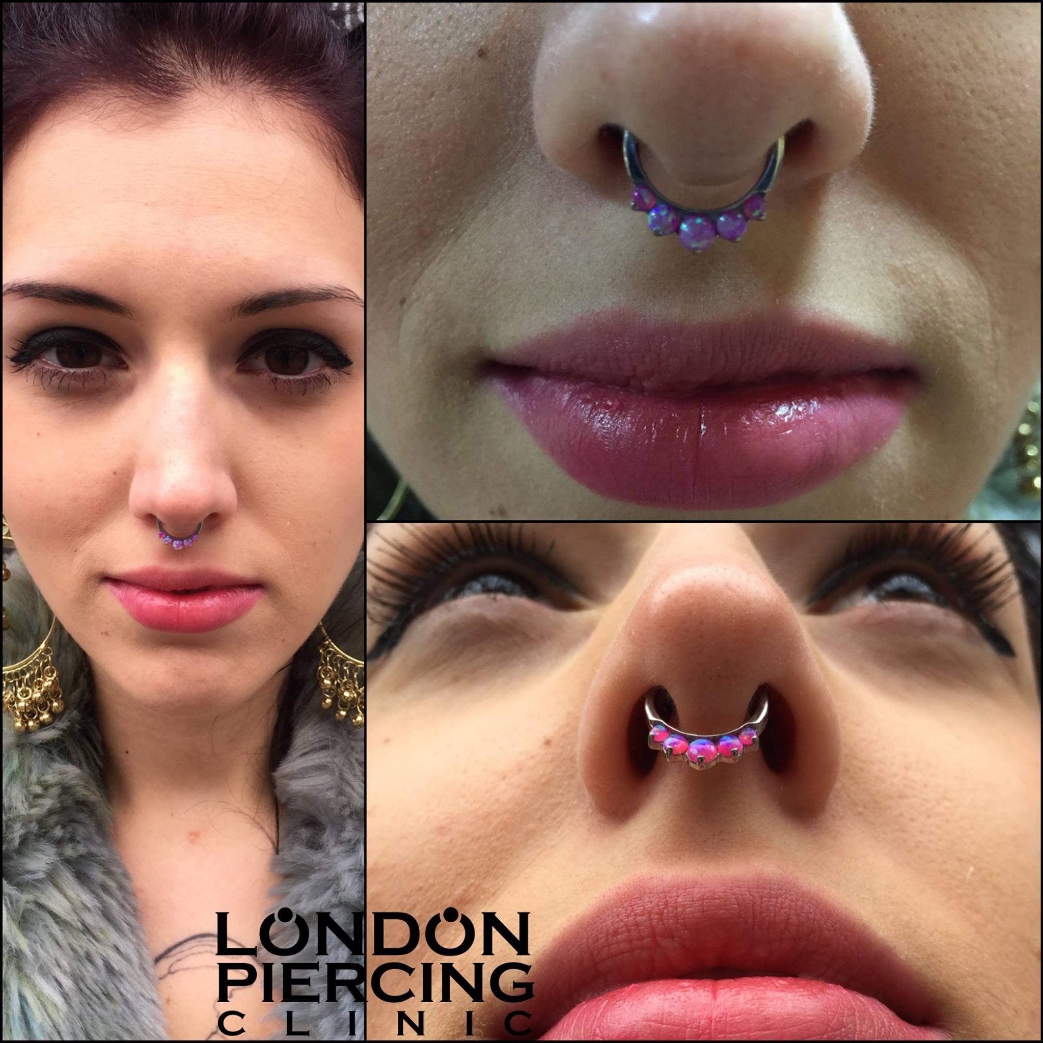 Septum with Industrial Strength Clicker